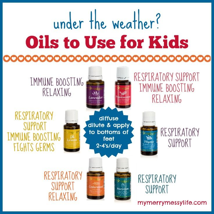 Essential Oils for Sick Children and Babies