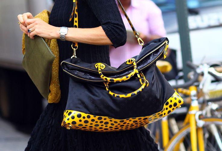 Louis Vuitton x Yayoi Kusama bag