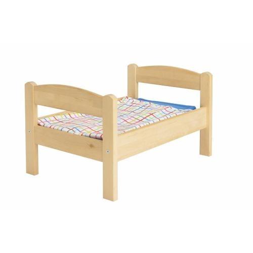 DUKTIG  Κρεβάτι κούκλας με σετ σεντονιών