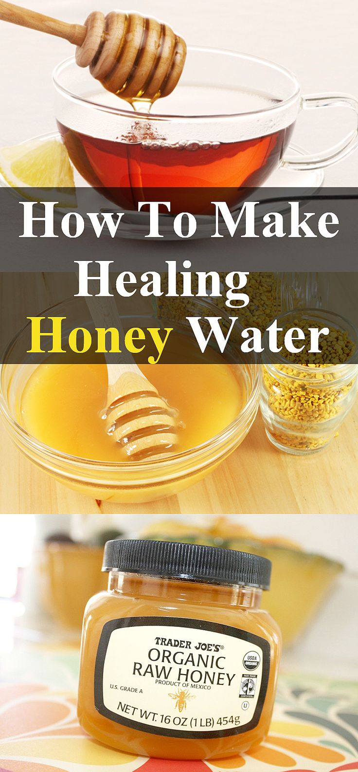 What Happens If You Drink Water With Honey On An Empty Stomach! Honey has…