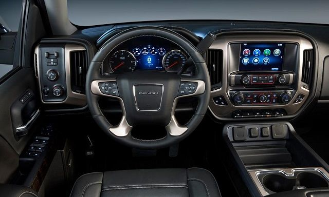 2016 GMC Sierra Denali Interior View