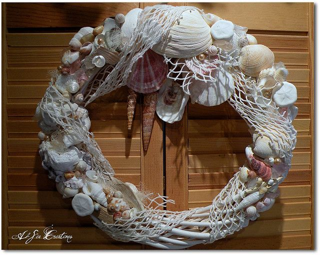 Sea Shell Wreath Craft Ideas Pinterest Sea Shells