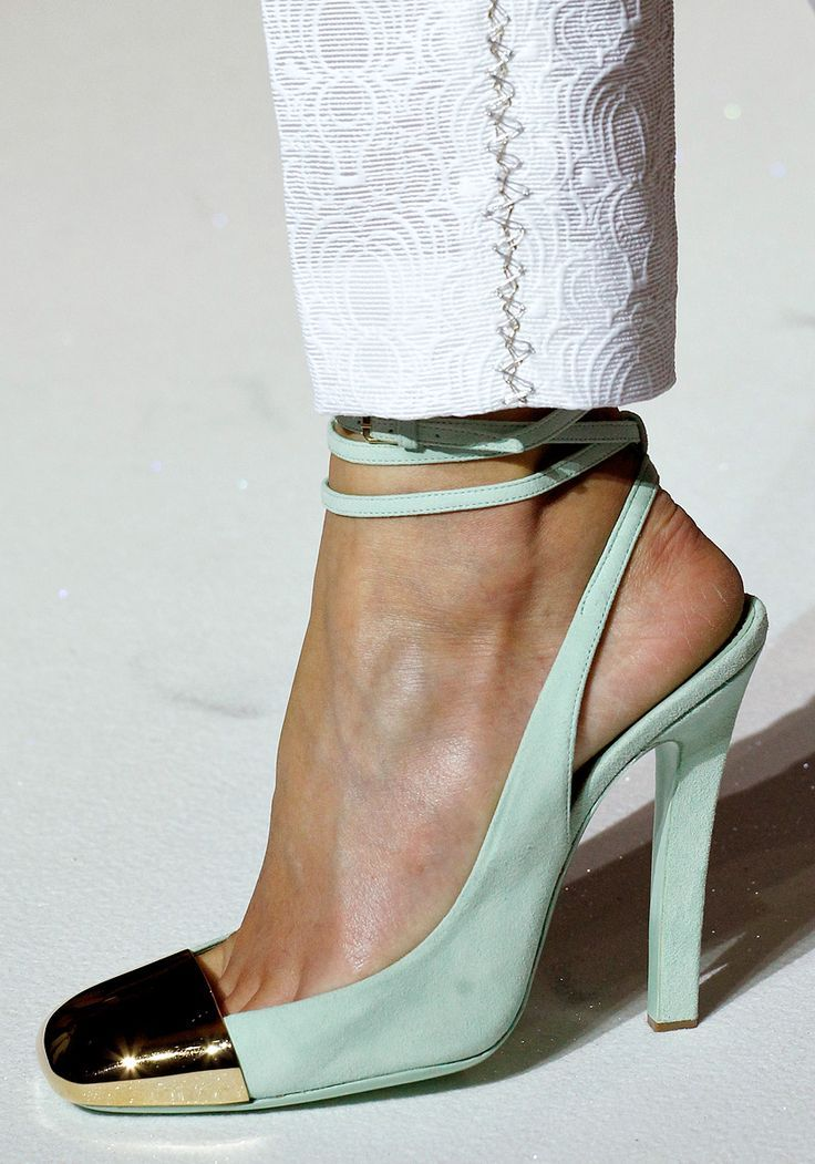 MORE incredible shoes from YSL! - I really like these, but I would prefer a slightly more pointed toe.