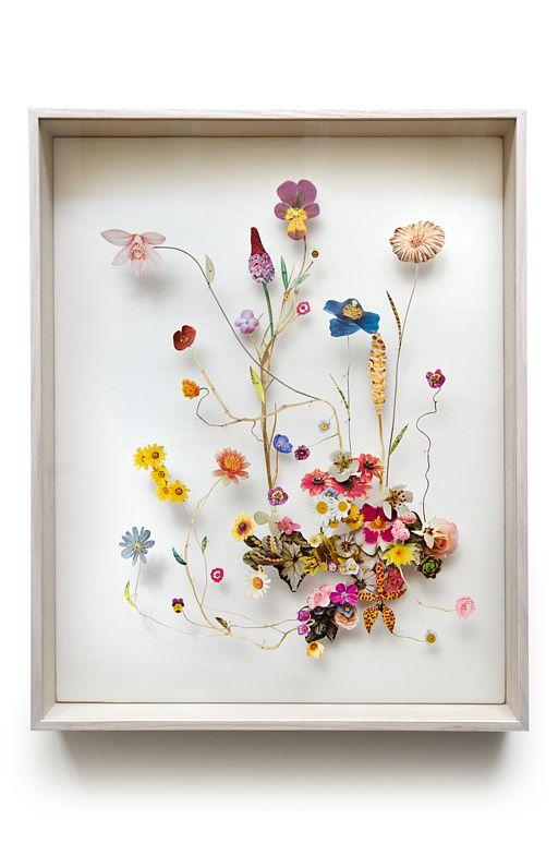 Anne Ten Donkelaar's flower constructions #art