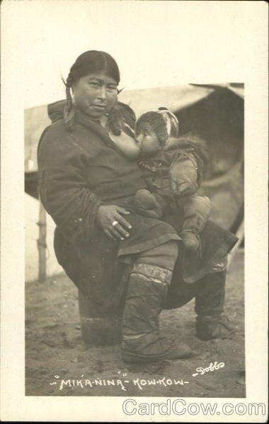 Inuit Breastfeeding Mik-A-Nina How-Kow Dobbs