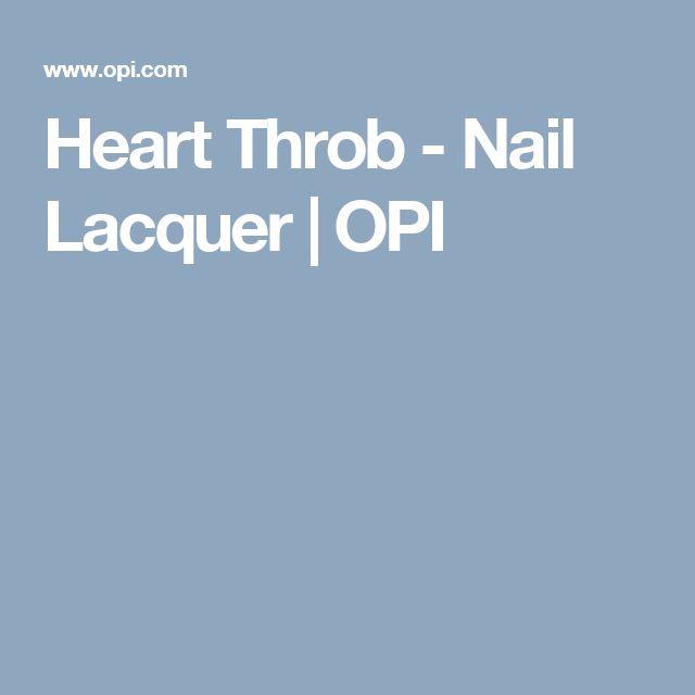 Heart Throb - Nail Lacquer | OPI