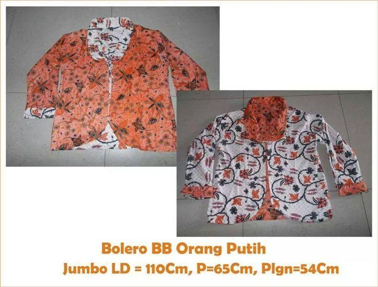 Bolero Jumbo OrangePutih Size : Jumbo LD:110cm,P:65cm,Plgn:54cm Price :100.000,- blm ongkir