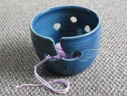 Blue Yarnbowl | Felt