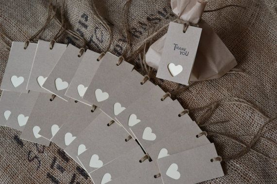 Wedding place cards/name tags by LaPommeEtLaPipe on Etsy, $25.00