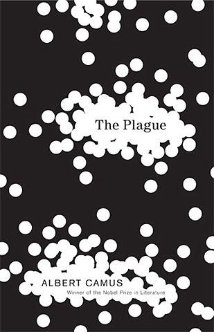 The Plague: author Albert Camus: cover design by Helen Yentus