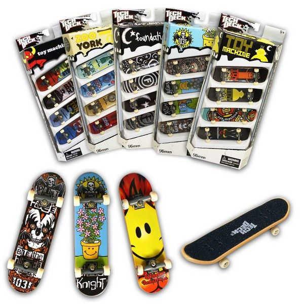 Finger Skateboards Tech Deck