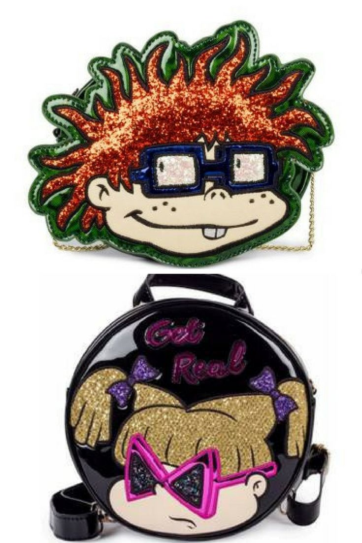 Nickelodeon fans, rejoice: Rugrats handbags will soon be available to purchase and we're more excited than Angelica gets when told she's in charge of the babies.