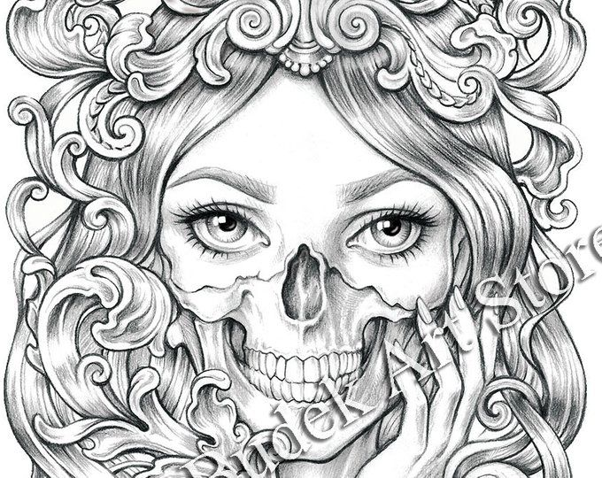 Coloring Pages Coloring Books Mariolabudek By Mariolabudekart Mariolabudek Mariolabudekart Eyes Beauti Coloring Pages Coloring Books Skull Coloring Pages