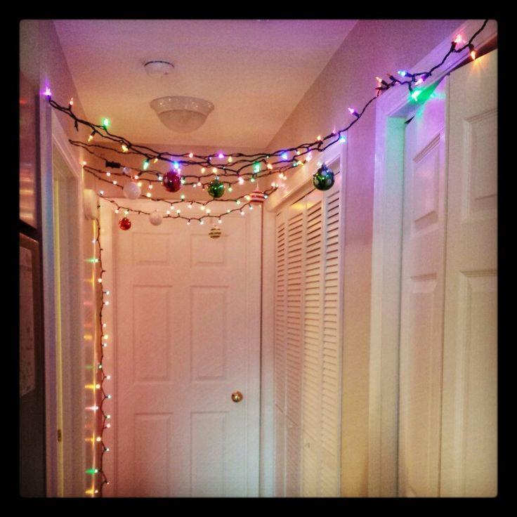 indoor christmas light ideas