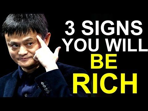 3 Signs That You Will Become Rich One Day - YouTube