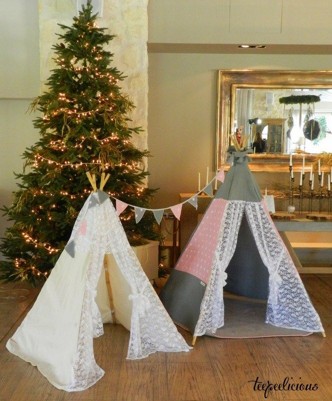 Teepee with lace  Standard Collection – Teepeelicious