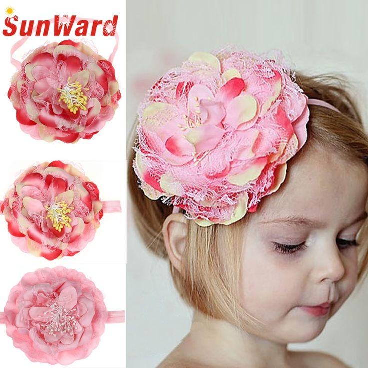 >> Click to Buy << SunWard hotselling cute Elastic Flower Hairband Photography Prop Band Headbands 3.9 #Affiliate