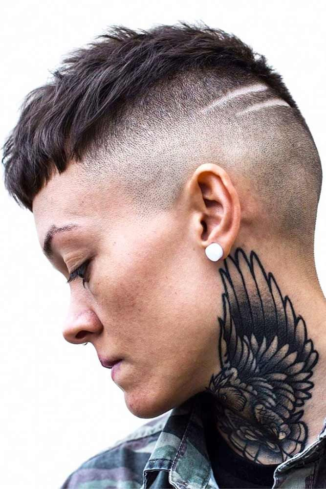 21 Super Daring Disconnected Undercut Styles Hair Cuts Pinterest