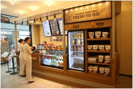Prepackaged meals enjoy popularity among foreigners