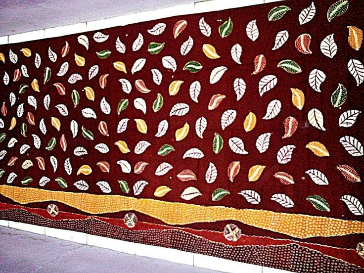 batik hand-printing from Madura, Indonesia 2 m x 1,1 m USD25