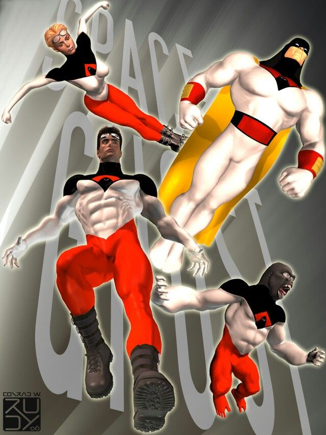 Ultimate Space Ghost by CWRudy