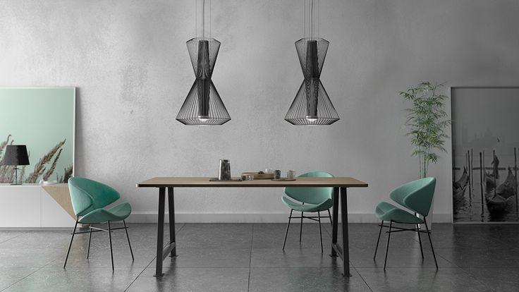 Nowość od Iker! Zachwycające krzesło Cheri.  Znajdź więcej na: www. euforma.pl                                 #iker #chair #cheri #krzesło #design #home