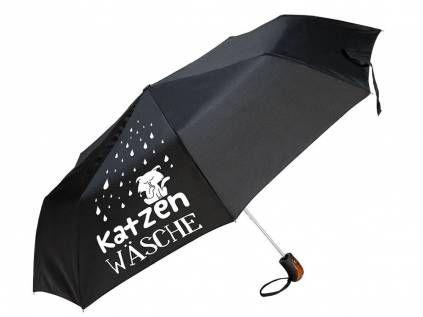 Regenschirme Hund & Co.Gilde Regenschirm: Katzenwäsche