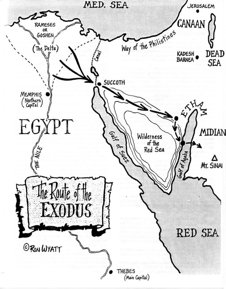 Image Result For Bible Story Coloring Pages Moses And The Exodus