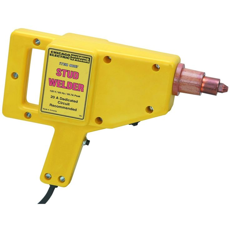 This dent repair kit has everything you need to repair auto body dings and dents! The stud welder features high power, yet low heat transformer to help get out dents cleanly every time. The D handle design makes the stud welder easy to maneuver and manage for less user fatigue so you can work longer. http://www.bonanza.com/listings/Stud-Welder-Dent-Repair-Kit/192533389