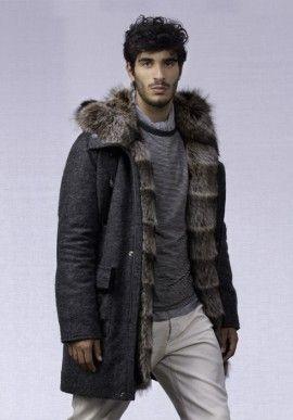 Coat - with hood BUY IT NOW ON www.dezzy.it!