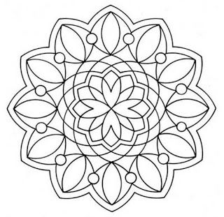 115 best mandalas images on pinterest | drawings, coloring books ... - Simple Therapeutic Coloring Pages