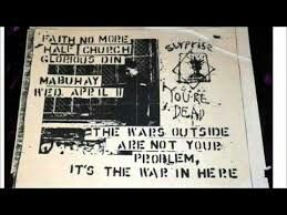 Old #Faith No More show flyer #FNM