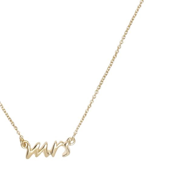 kate spade | necklaces for women - say yes bridal mrs. necklace