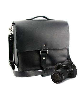 """Small 10"""" Napa Midtown Camera Bag Made in the U.S.A. - Black - 10-MID-BL-SMCAM"""