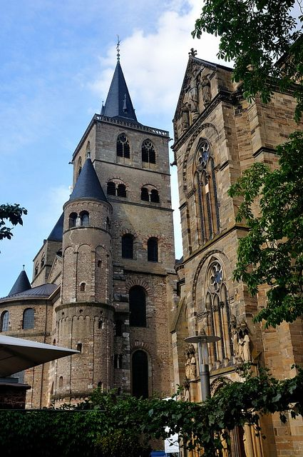 Trier (founded by the Romans - oldest town in Germany). Near Belgium's southeastern border.