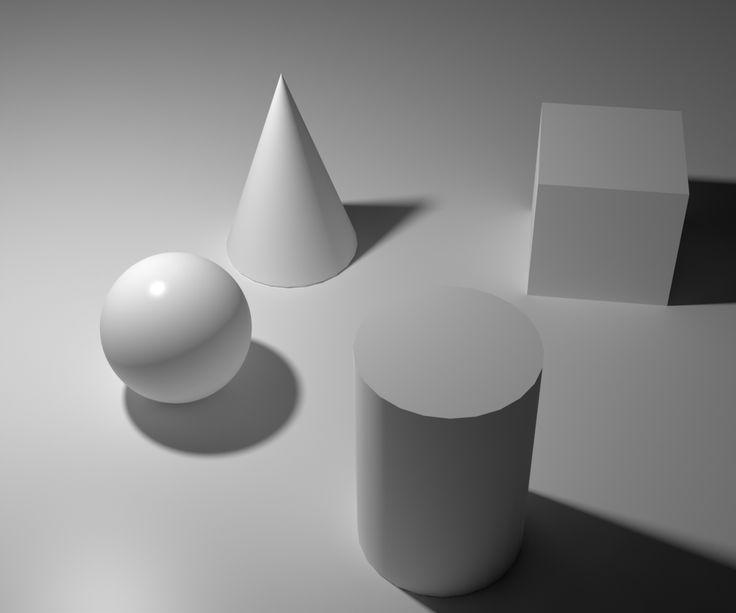 Reference, basic still life shapes
