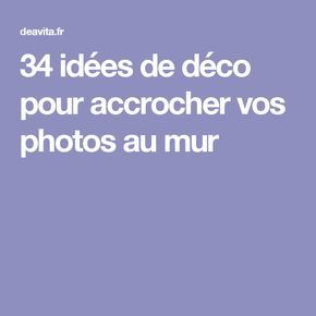 les 25 meilleures id es de la cat gorie accrocher des photos sur pinterest mur avec photos. Black Bedroom Furniture Sets. Home Design Ideas