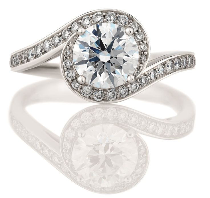 De Beers engagement ring.