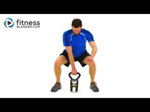 ▶ Advanced Kettlebell Workout - Calorie Blasting Weight Loss Kettlebell Routine - YouTube - 27 min.