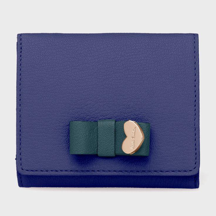 コントラストリボン 2つ折り財布  Paul Smith(ポール・スミス)通販サイト