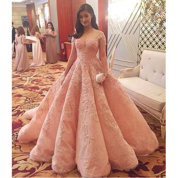 Pretty Pink Gown