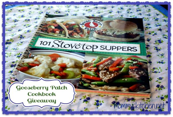 Mommy's Kitchen: Gooseberry Patch 101 Stovetop Suppers {Review & Giveaway}