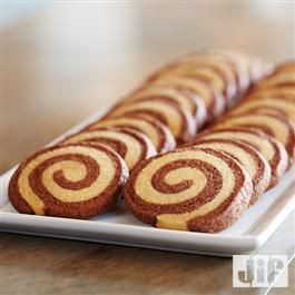Chocolate #Hazelnut Peanut Butter Pinwheel #Cookies from Jif®