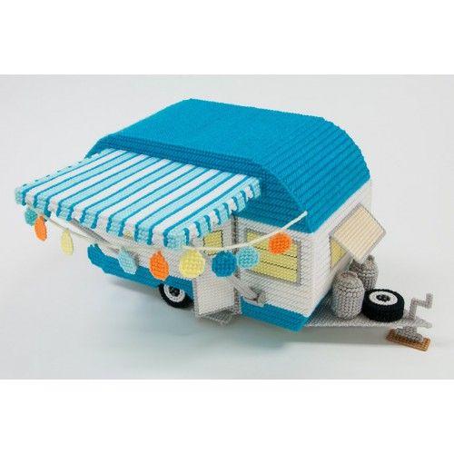 Mary Maxim - Retro Car and Camper Plastic Canvas Kits  - 2 of 3