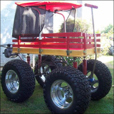 monster little red wagon 39 Mind Blowing Radio Flyer Wagons