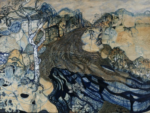 Really gorgeous details and such an Australian feel to Joshua Yeldham's art, via Arthouse Gallery