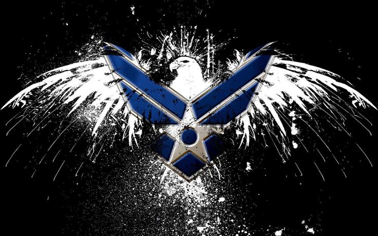 Air force logos air force logo hd wallpaper awd for Air force decoration