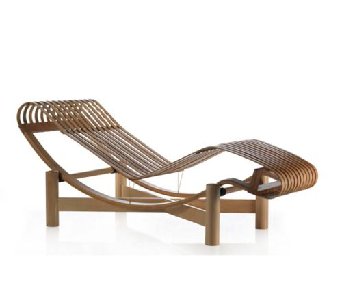 17 best images about charlotte perriand on pinterest for Chaise longue double en bois