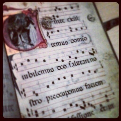 Cantando coi gregoriani