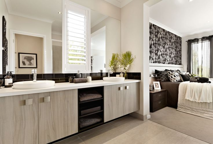 Carlisle Homes - Marlow 25 Master Suite and Ensuite